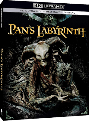 Pan's Labyrinth 4K UHD cover art.