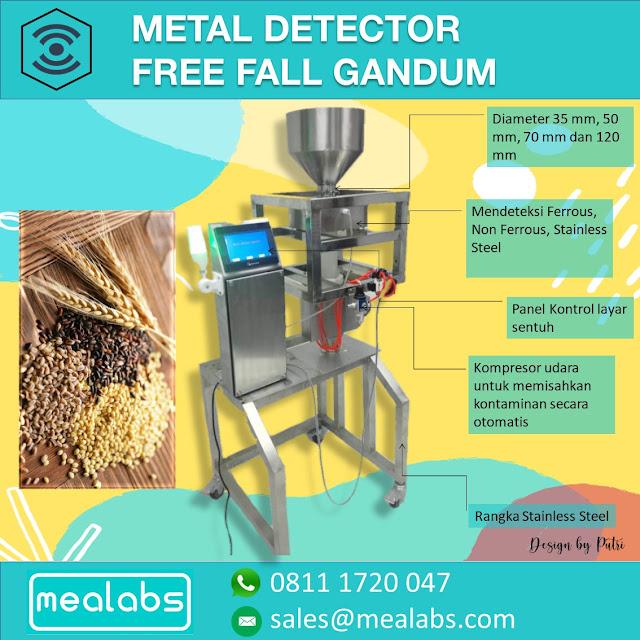metal detector gandum