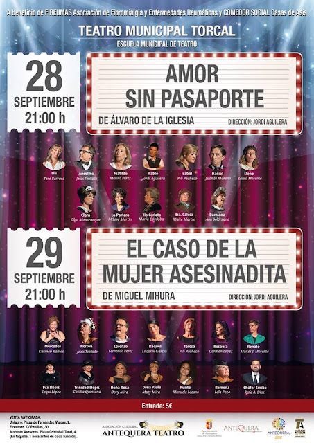 Teatro Benéfico en Antequera
