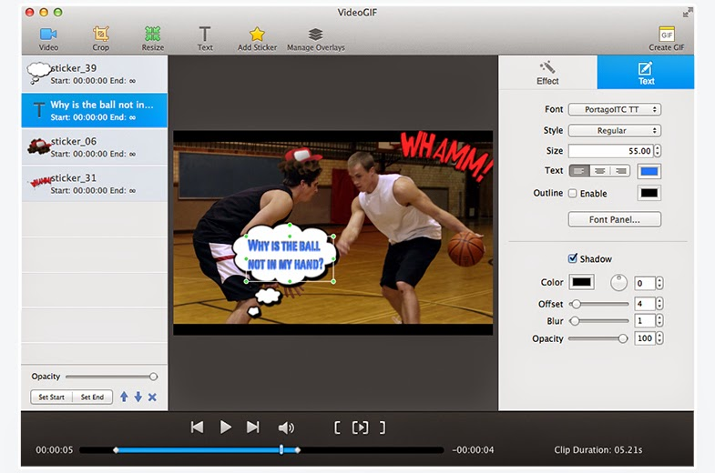 videogif mac screenshot
