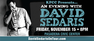 http://www.scpr.org/events/2013/11/15/1139/kpcc-presents-an-evening-with-david-sedaris/