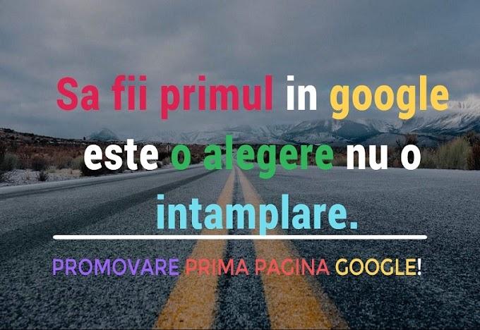 Promovare site google - Publicitate gratuita pe internet
