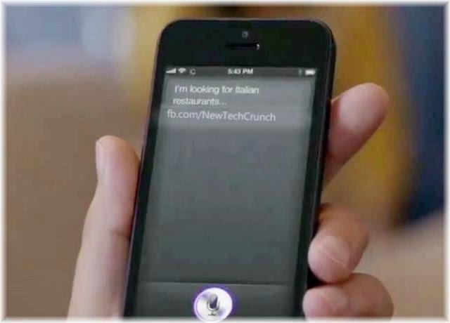 iPhone 5 siri voice app