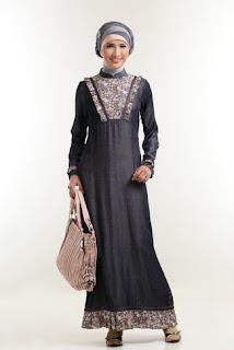Baju Gamis Batik Sifon