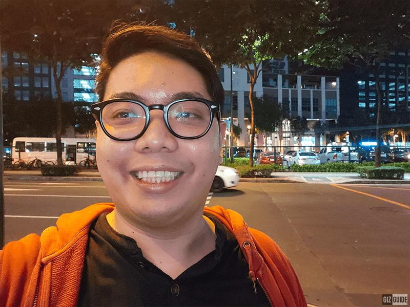 Vivo NEX 3 low light selfie