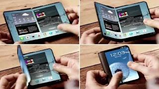 شركة سامسونج الكوريه تطرح هاتفها الذكي galaxy x 2018 القابل للطي في يناير المقبل