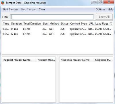 Addons Tamper Data