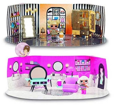 Furniture for L.O.L. dollhouse with an exclusive toy