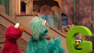Sesame Street Episode 4306 The Letter G Song, elmo, rosita, letter g
