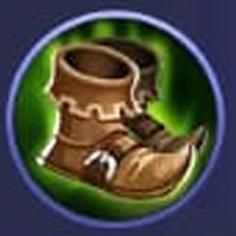 item sepatu (Warrior Boots)