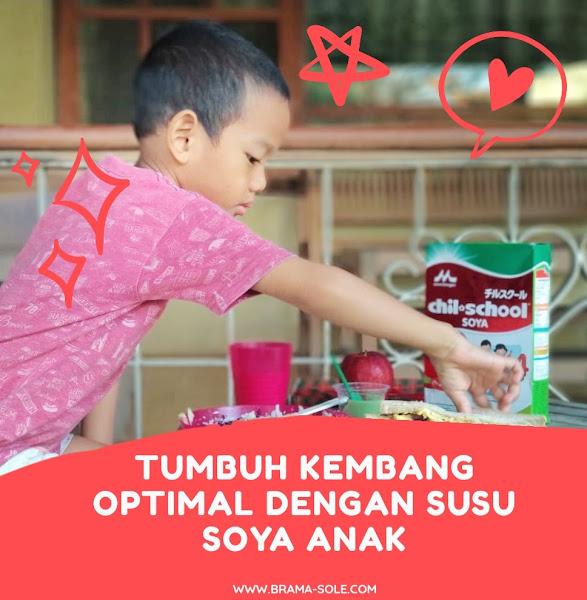 Tumbuh Kembang Optimal Dengan Susu Soya Anak