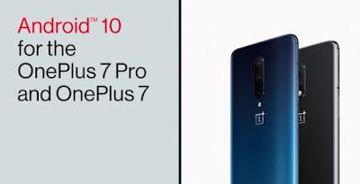 Android 10 já está disponível para OnePlus 7 e 7 Pro