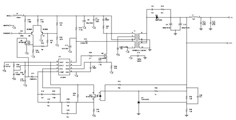 Multi Output Power Supply Circuit