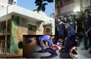 'ISIS attack' on cafe popular with foreigners in Bangladesh
