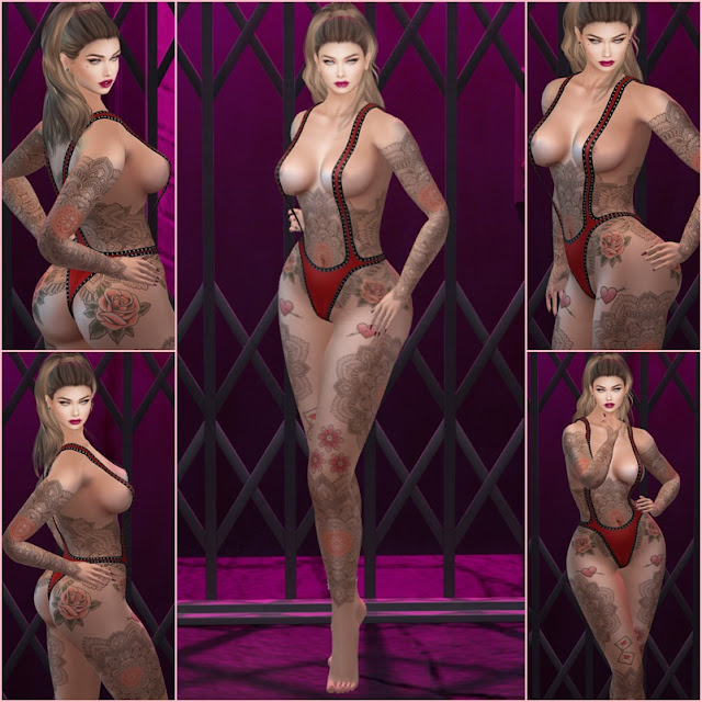 * Pietra Full Body TaTToo [CAROL G] Exclusive Uber *