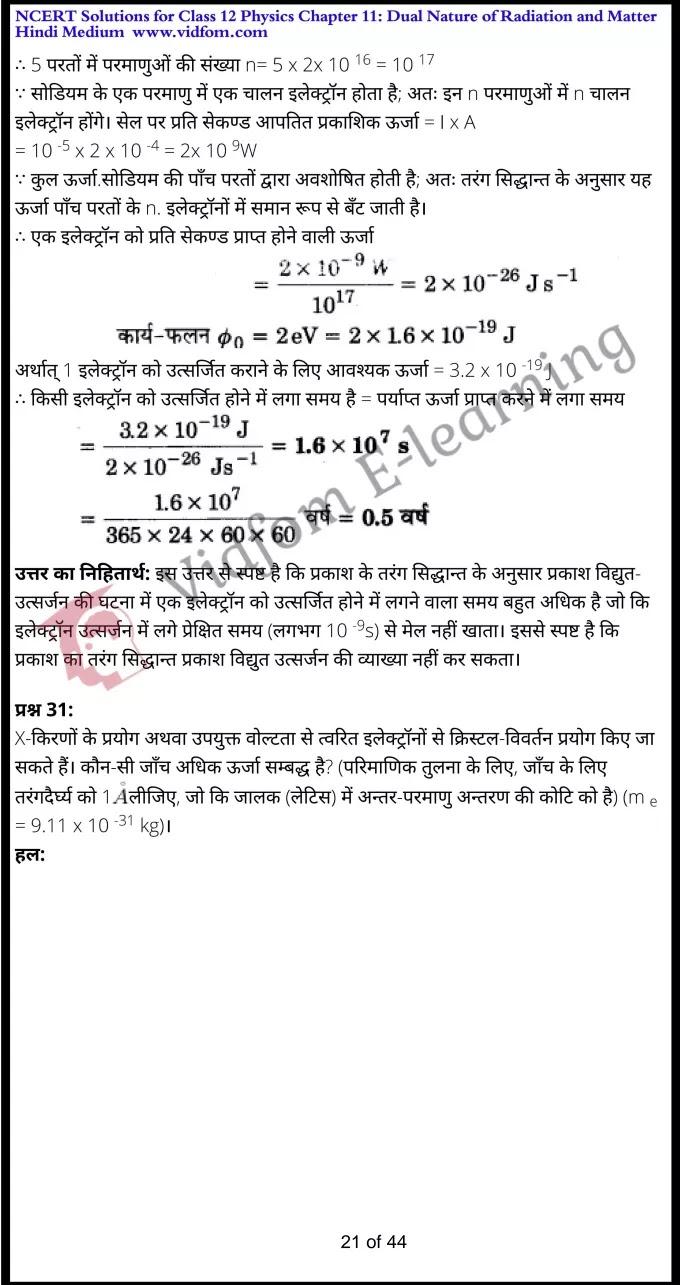 class 12 physics chapter 11 light hindi medium 21