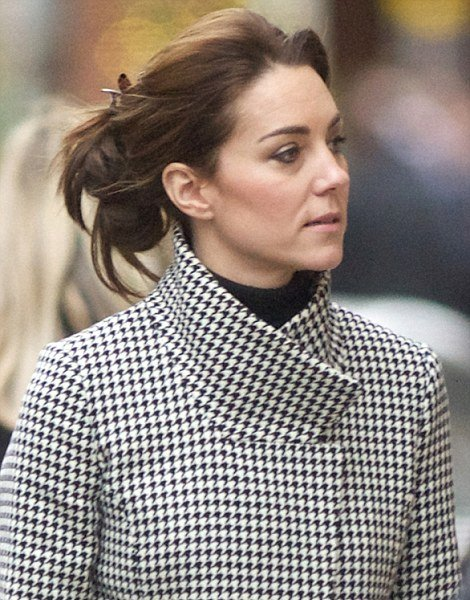 Kate Middleton stepped out for a christmas shopping trip at John Lewis in Chelsea
