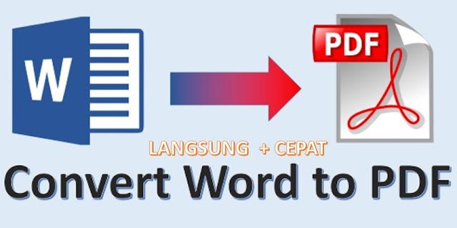 cara mengubah pdf ke word - cepat
