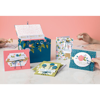 Perennial Birthday Project Kit - always have a birthday card on hand with this lovely kit - get yours  here - http://bit.ly/2EujAN7