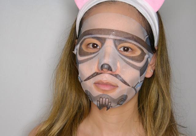 Stormtrooper Star Wars Sheet Mask Selfie