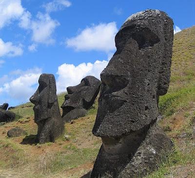 Раскрыли тайну статуй с острова Пасхи