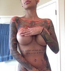 Guys Only! Will You Allow Your Lady To Draw Tattoo On Her Breast And ...
