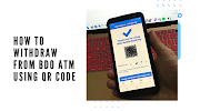 How to withdraw from BDO ATM using QR code
