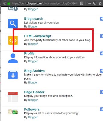 Πως να έχετε Widget με τα πρόσφατα σχόλια στο Blogger 1