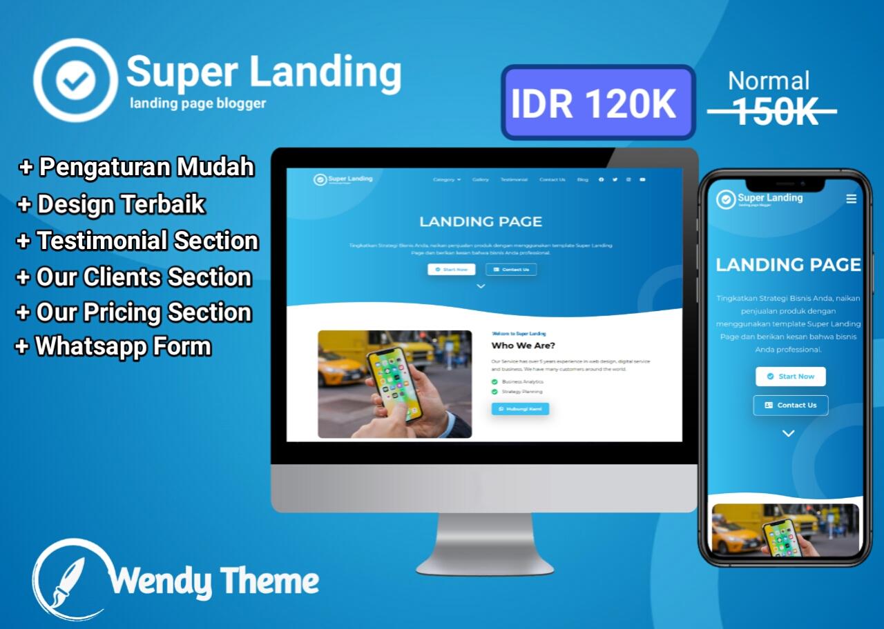 Super Landing Page