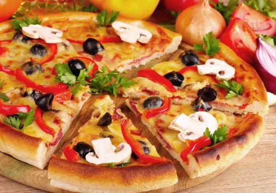 طريقة تحضير بيتزا الرجيم الشهية