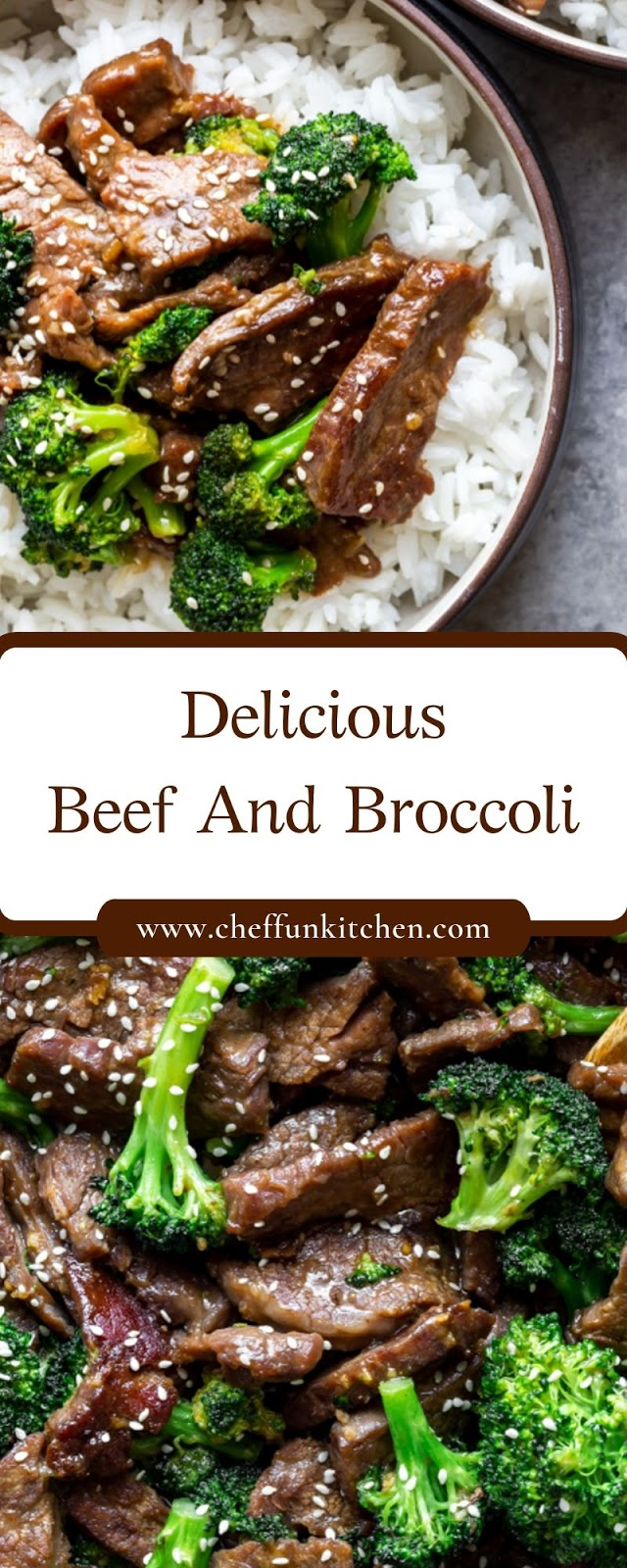 Delicious Beef And Broccoli