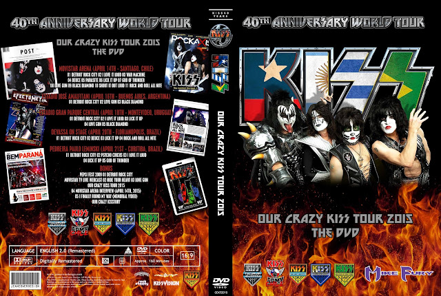 Kiss - Our Crazy Kiss Tour 2015 DVD