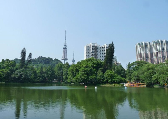 สวนเยว่ซิ่ว (Yuexiu Park)