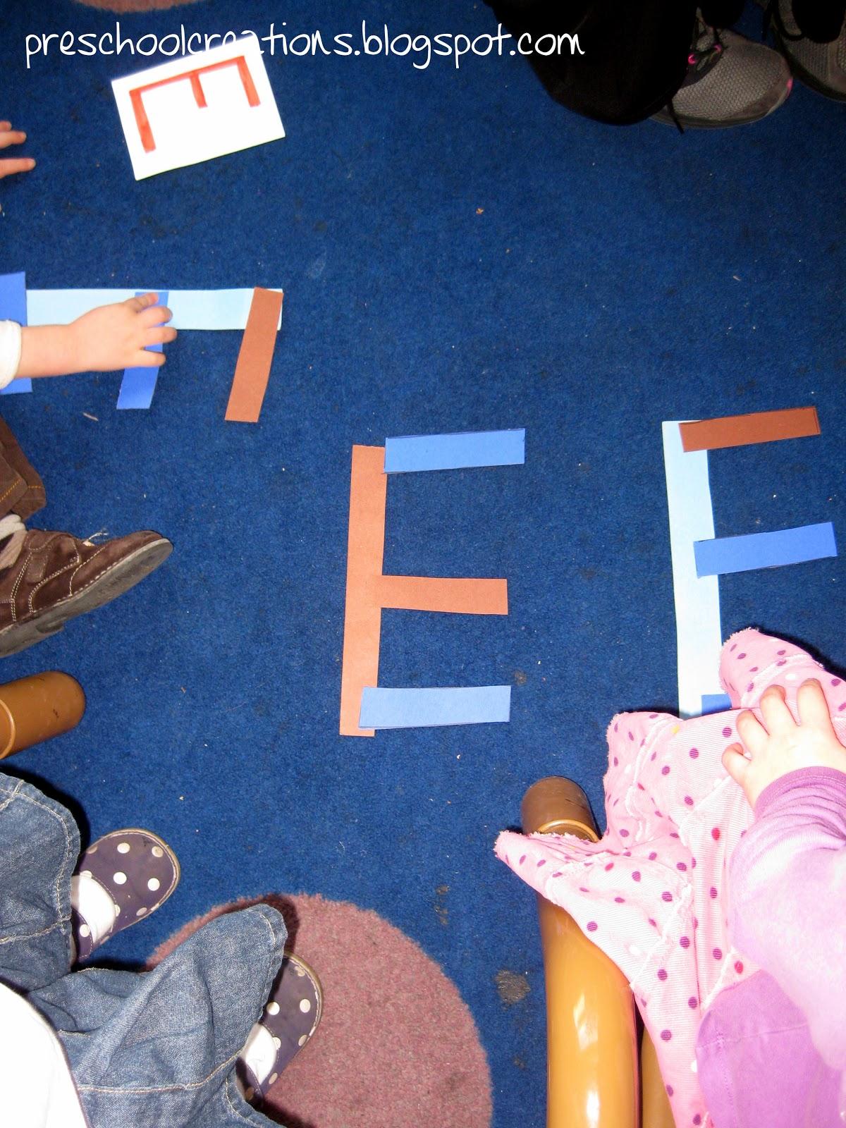 Preschool Creations Letter E Activities