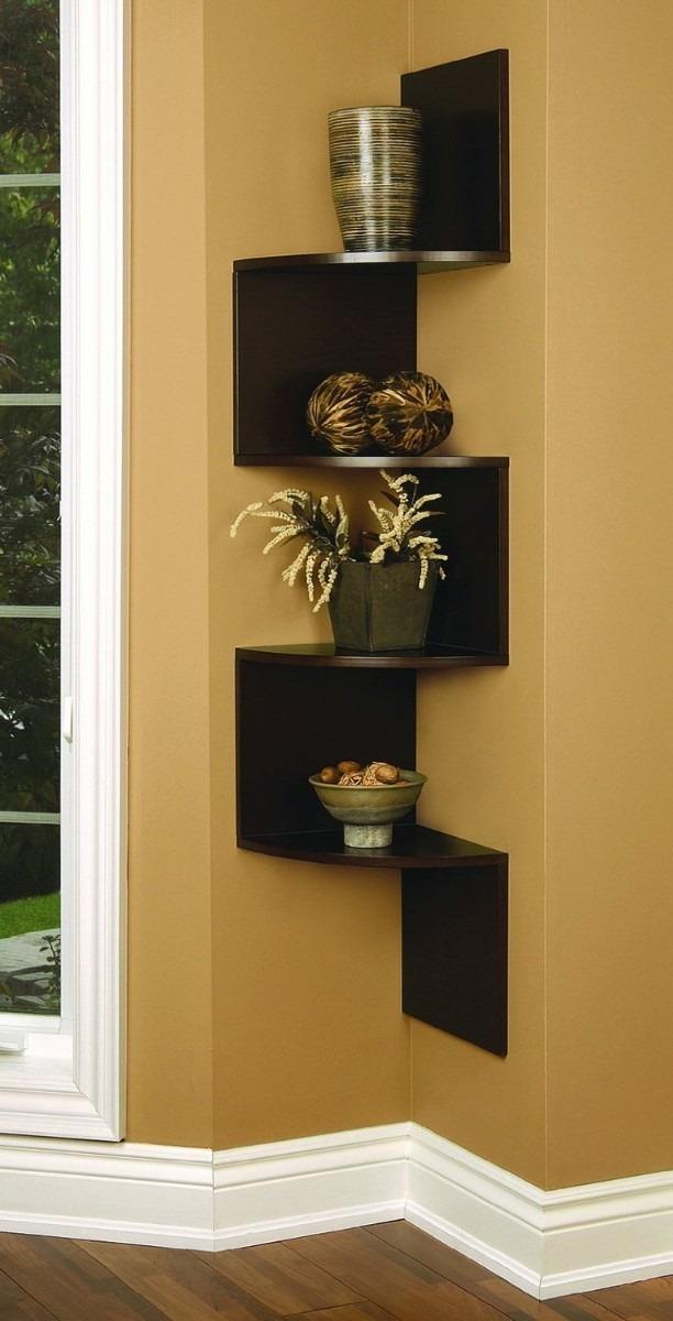 corner storage unit living room moroccan decor maderas y decoraciones: repisas flotantes de pisos ...