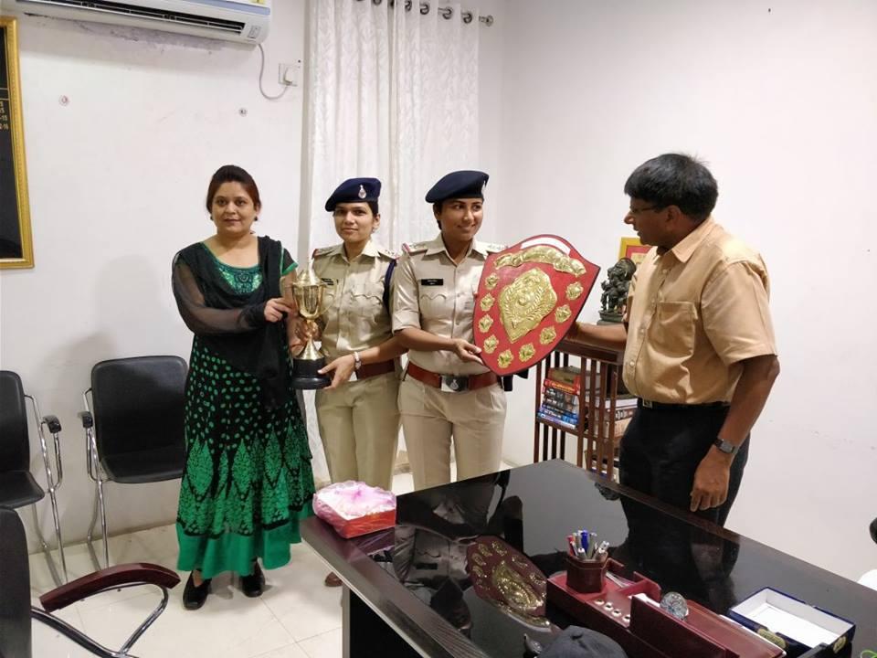 पुलिस उपनिरीक्षक श्रद्धा पवांर ने प्रदेश में पाया पहला स्थान-Police-Inspector-Shradha-Panwar-first-rank-in-the-mp-state