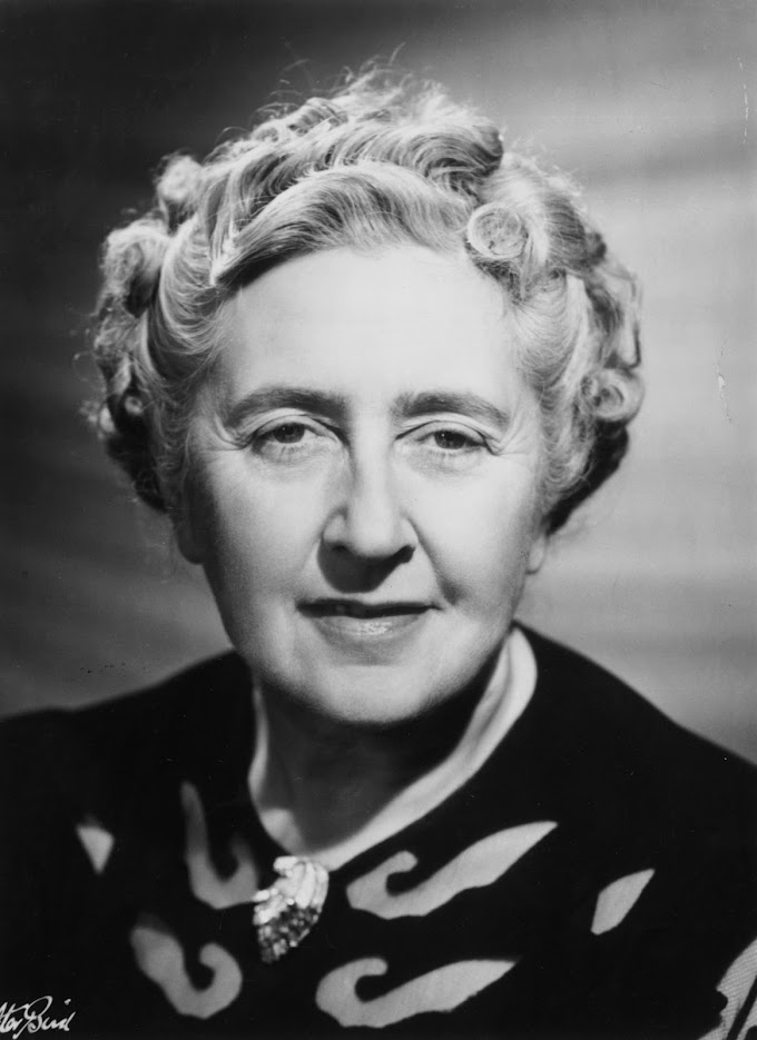 Recordando a   Agatha Christie en su onomástica