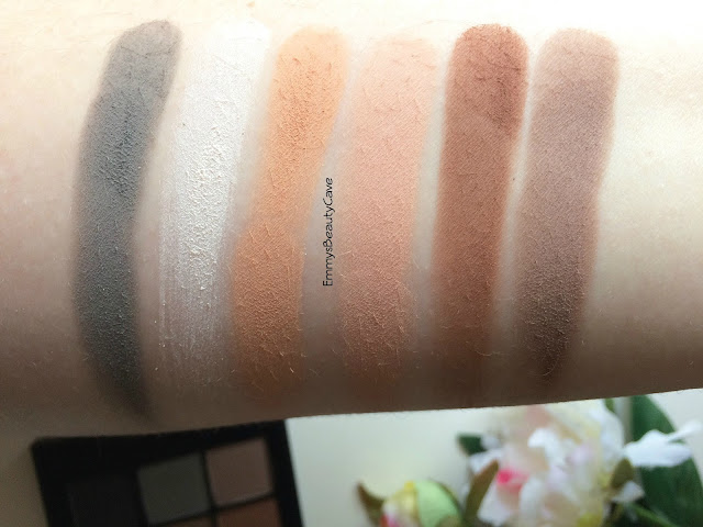 Sonia Kashuk Eye on Neutral Matte Palette Swatches