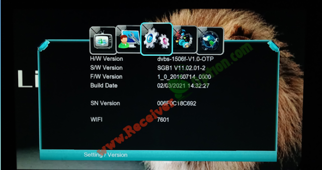 LION STAR 2090HD 1506F 512 4M NEW SOFTWARE 2 MARCH 2021
