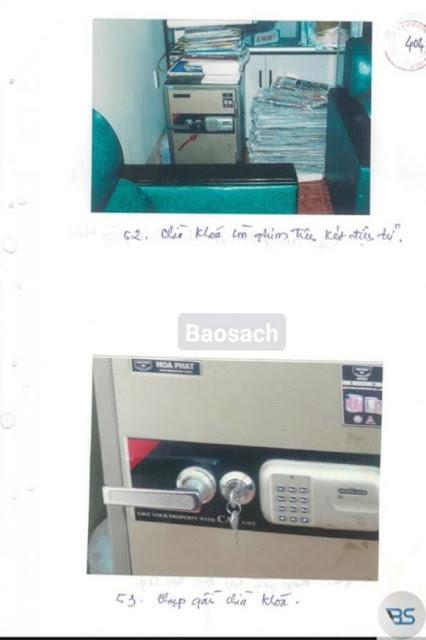 Xuất hiện ngày càng nhiều hình ảnh hiện trường trong hồ sơ vụ giết người ở Bưu điện Cầu Voi