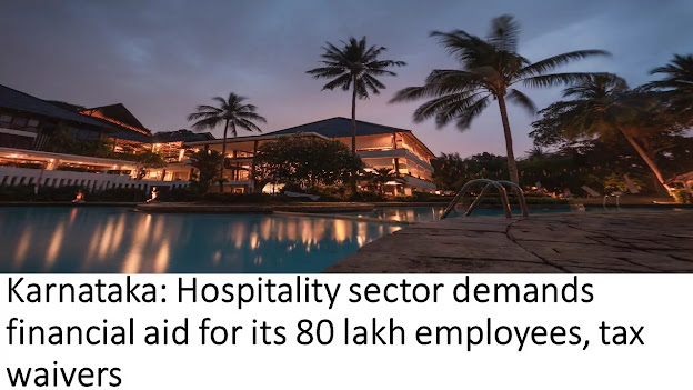 Karnataka: Hospitality sector demands financial aid for its 80 lakh employees, tax waivers