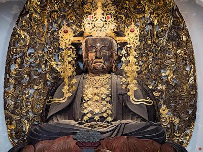 Statue of Birushanabutsu (Vairocana) :Engaku-ji (butsuden)