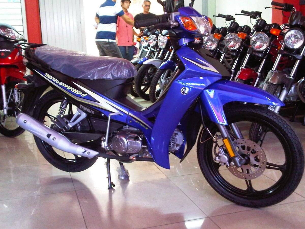 Crypton B B on Motos Suzuki