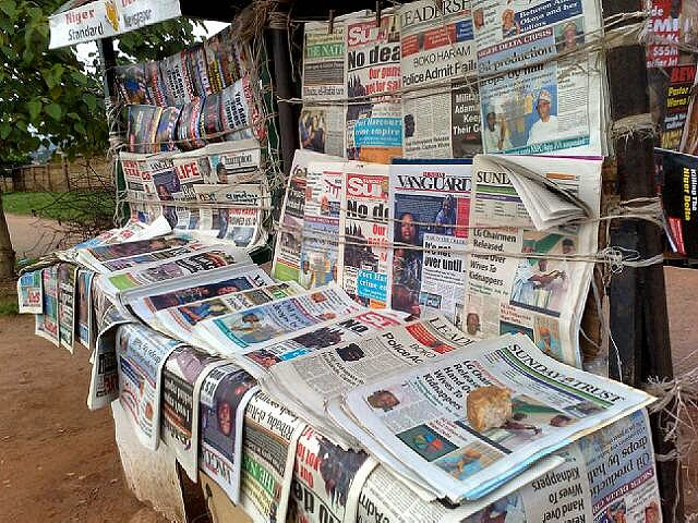 Newspaper Headlines: Things You Need to Know This Thursday Morning