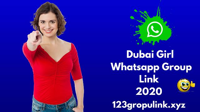 Join 900+ dubai girl whatsapp group link