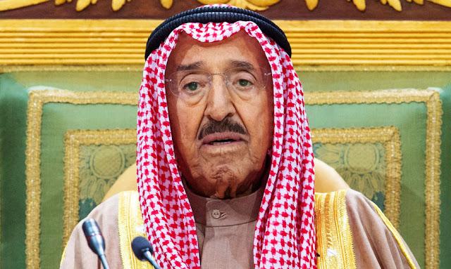 عاجل..وفاة أمير الكويت الشيخ صباح الأحمد الجابر الصباح