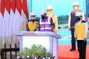 Presiden Jokowi Resmikan Tol Secara Virtual untuk Pertama Kalinya