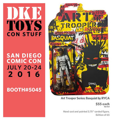 San Diego Comic-Con 2016 Exclusive Art Trooper Basquiat Resin Figure by RYCA x DKE Toys