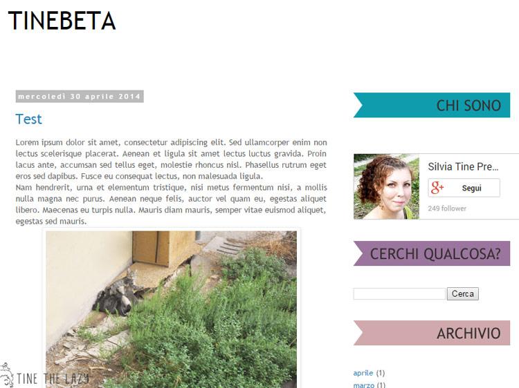 Personalizzare i titoli delle sidebar di Blogger 1