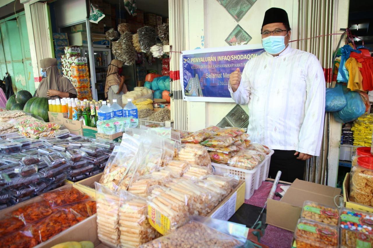 Semarakkan Bulan Ramadan, BP Batam Salurkan Kupon Infaq dan Sodaqoh ke Kaum Duafa Tanjung Uma